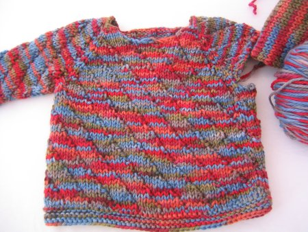 Lorna's Baby Sweater