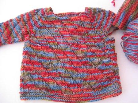Lorna's Baby Sweater