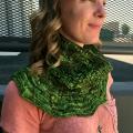 Kristen's Tosh Cloud Forest Cowl
