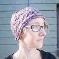 Erika's Blue Leaf Headband