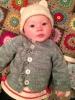 Kristen's Cascade Baby Sweater