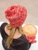Kristen's Tosh Rhubarb Helix Hat