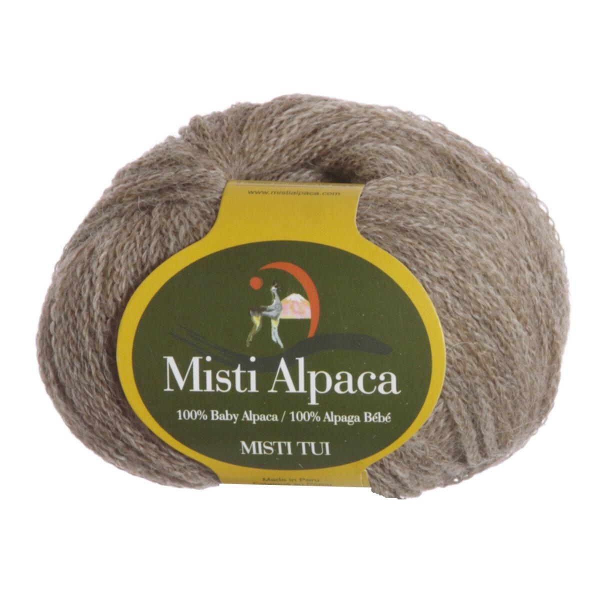 Misti Alpaca Tui Yarn - 284 Taupe at Jimmy Beans Wool