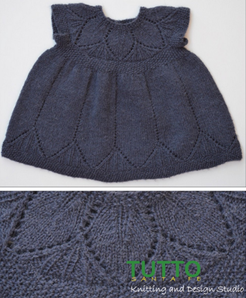 Clara Dress Knitting Pattern : TUTTO Sante Fe Patterns - Clara Dress Pattern at Jimmy Beans Wool