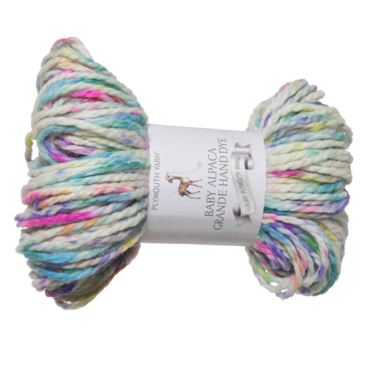 Plymouth Yarn Baby Alpaca Grande Hand Dye Yarn Reviews At