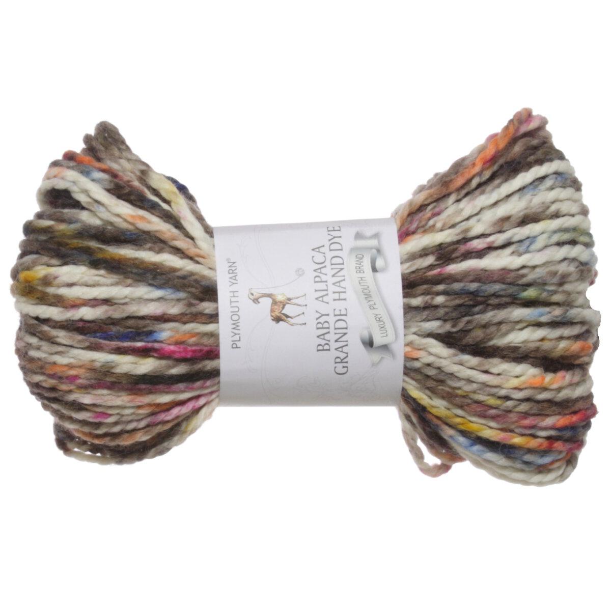 Plymouth Yarn Baby Alpaca Grande Hand Dye Yarn 144 At