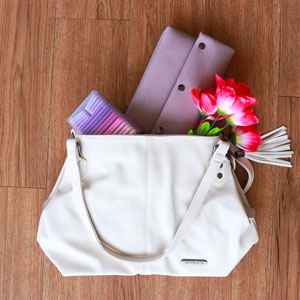 Namaste Maker's Fully Loaded Shoulder Bag kits Cream/Petal