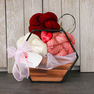 Jimmy Beans Wool Madelinetosh Bouquets kits Copper Pink/Tart/Natural