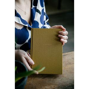 Laine Magazine My Knitting Notes My Knitting Notes- Mustard