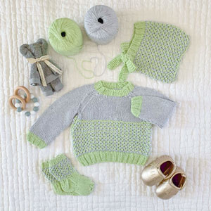 Jimmy Beans Wool Tiny Tots Tin kits Willow