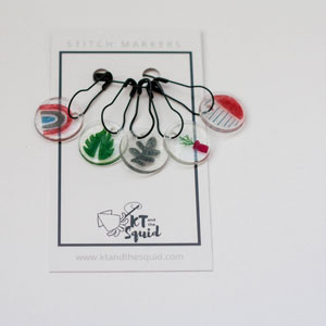 KT and the Squid Stitch Markers Boho