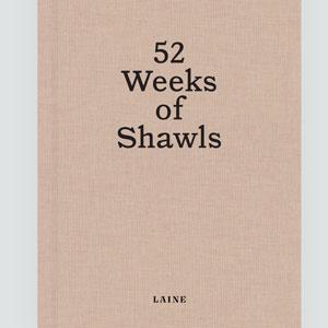 Laine Magazine 52 Weeks Books 52 Weeks of Shawls