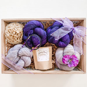 Jimmy Beans Wool The Starflake Bouquet kits The Feels / Moonstone