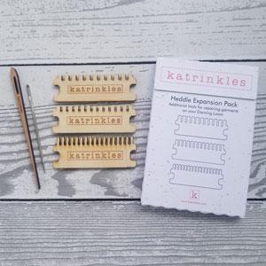 Katrinkles Darning and Mending Loom Kit Heddle Expansion Pack for Original