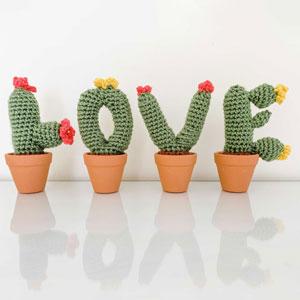 Jimmy Beans Wool L.O.V.E. Cactus kits L.O.V.E. Cactus