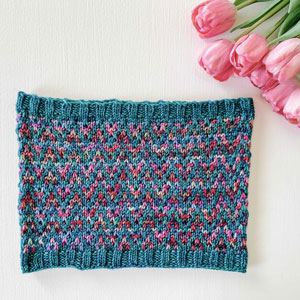 Jimmy Beans Wool Find Your Way Cowl kits Two color - Anniversario (MC) / Solis (CC)
