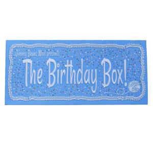 Jimmy Beans Wool Birthday Box kits Birthday Suit (Purples)