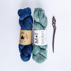 Jimmy Beans Wool Droughtlander kits Carribean Waters