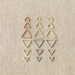 cocoknits Maker's Keep Accessories Triangle Stitch Markers- Earth Tones
