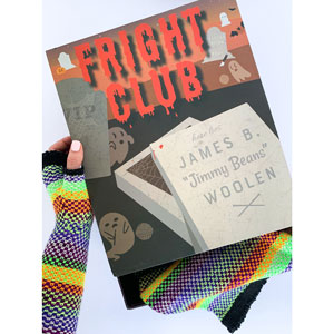Jimmy Beans Wool Fright Club kits 2021 - Witchful Thinking (Brilliant) - Knit