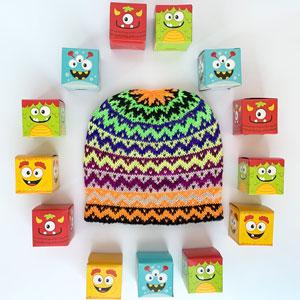 Jimmy Beans Wool Fright Club kits 2021 - All Treats, No Tricks (Brilliant)