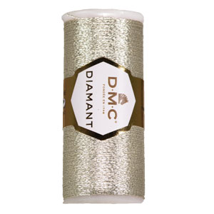 DMC Creative World Diamant yarn 168 Light Silver