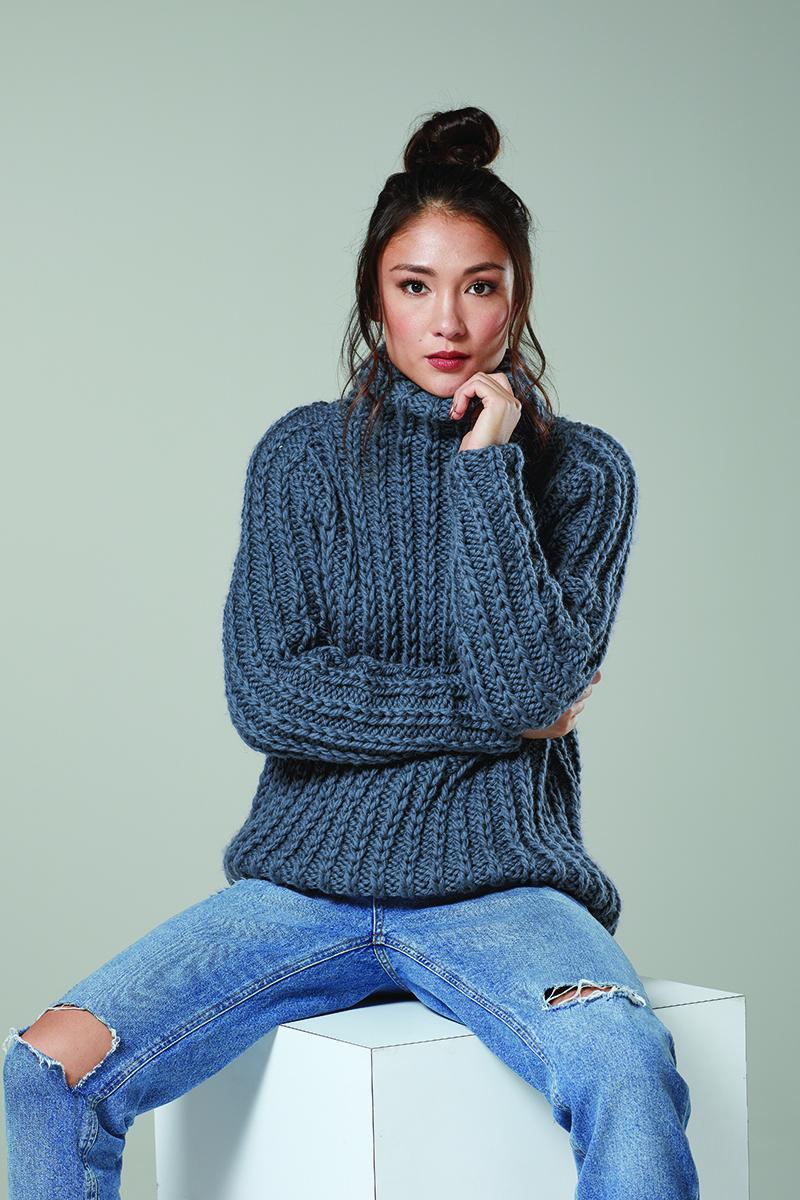 Rowan Moon Sweater Kit - Women's Pullovers Kits at Jimmy ...