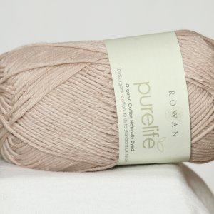 rowan purelife organic cotton dk yarn 987 quebracho bark