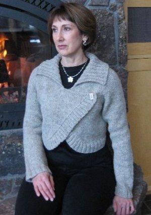 Simple luxury scarf - free knitting pattern - Pickles
