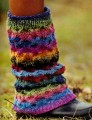 Noro Silk Garden Sock Leg Warmers
