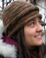 2 Knit Wits Patterns - Double Rolled Beanie