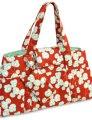 Amy Butler Sanibel Bag Accessories - Brick/Seafoam