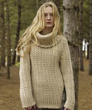 Rowan Big Wool Voyager Pullover Kit - Womens Pullovers Kits at Jimmy Bea...