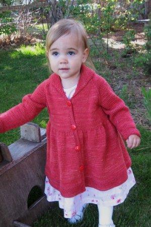 Simple Baby & Children Patterns - 1010 - Girl's Victorian Coat Pattern