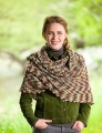 Lorna's Laces Shepherd Sock Sugar Maple Shawl
