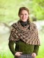 Lorna's Laces Shepherd Sock Sugar Maple Shawl