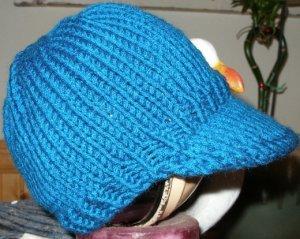 2 Knit Wits Patterns - Gavins Baseball Cap Pattern at Jimmy Beans Wool