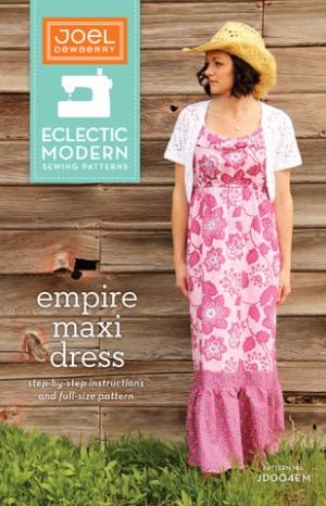 Joel Dewberry Eclectic Modern Sewing Patterns Empire Maxi Dress