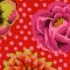 Kaffe Fassett Big Blooms - Red