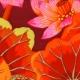 Kaffe Fassett - Lake Blossoms - Red