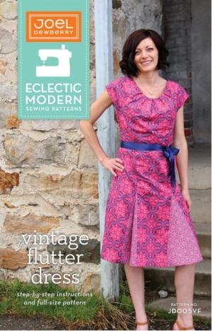 Joel Dewberry Eclectic Modern Sewing Patterns - Vintage Flutter ...