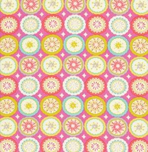 Dena designs kumari garden fabric lalit pink at jimmy for Dena designs tea garden fabric