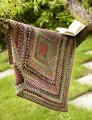 Noro Silk Garden One Big Granny Square Throw and Afghan