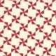 Sweetwater Mama Said Sew - Pinwheel - Cream/Apple Red