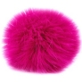 Luxury Fur Pom-Pom - 105-12 Neon Pink