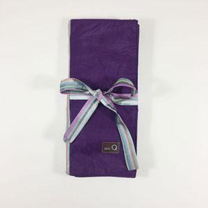 della Q Tri-Fold Circular Needle Case - 1145 018 Purple
