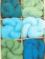 Blue Sky Gift Box - 100% Alpaca Sport Weight - Capri