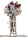 Fabric Anniversary Bouquet - 5th - Wood