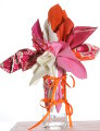 Fabric Bouquets - Pinks
