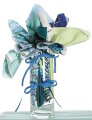Fabric Bouquets - Greens
